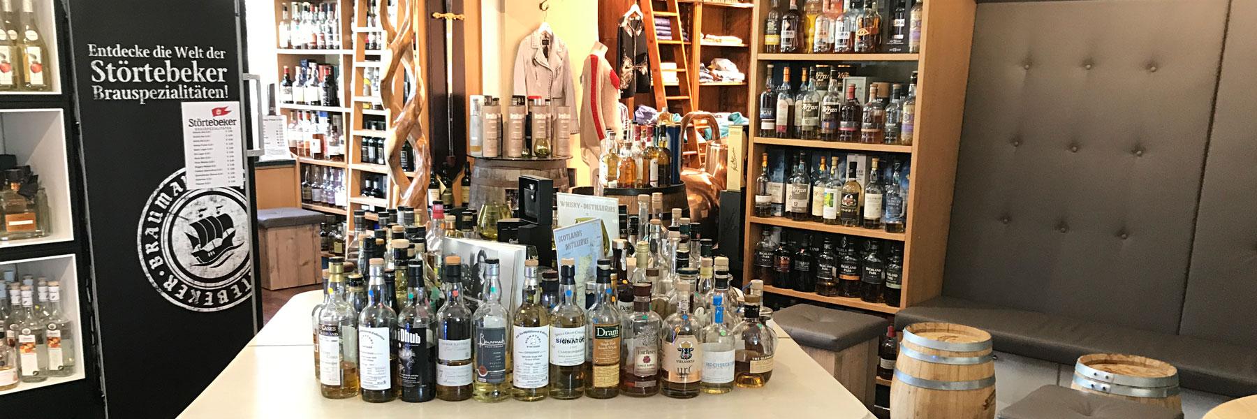 Tisch - Whisky Oase Sonnenhof