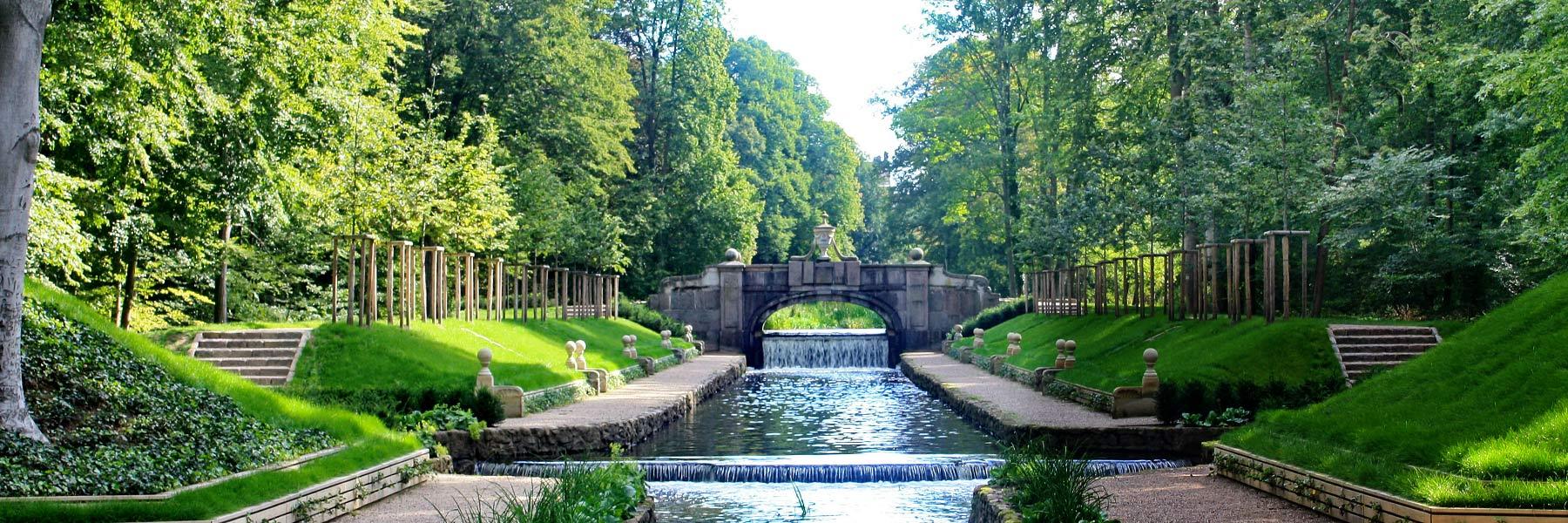 """Schlossgarten - Hotel """"Erbprinz"""""""