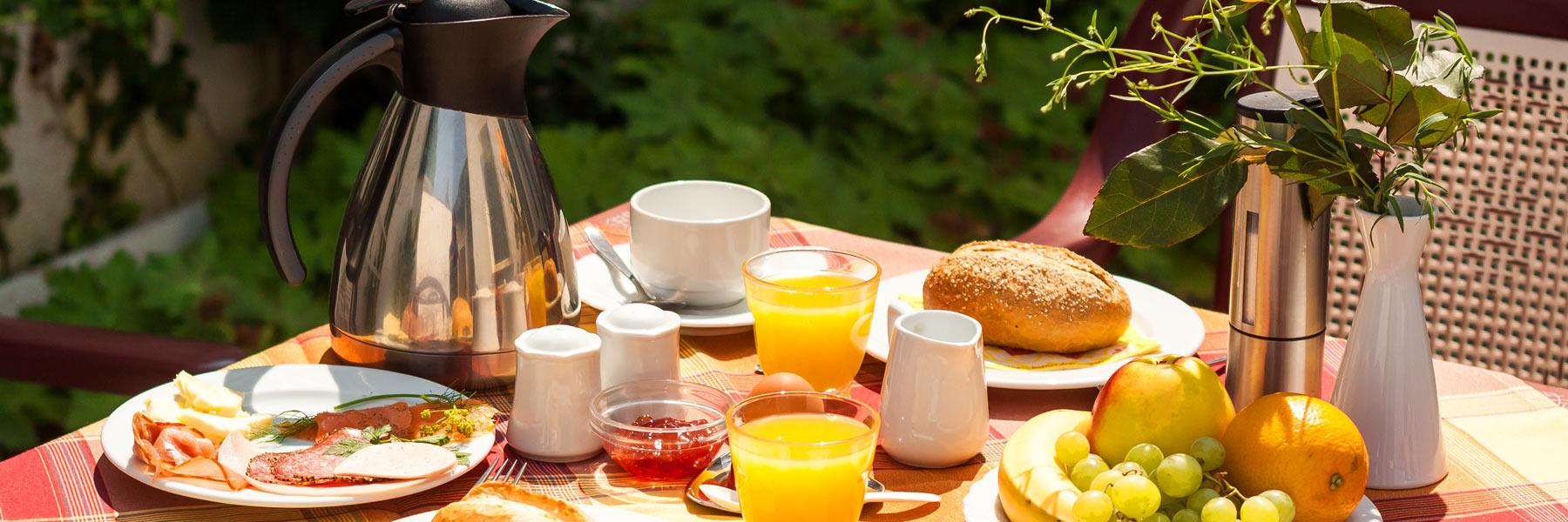 Frühstückstisch - Hotel Stadtkrug