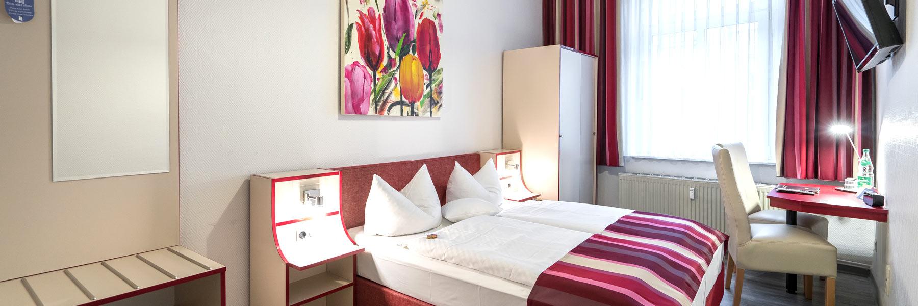 Schlafzimmer - Hotel Stadtkrug
