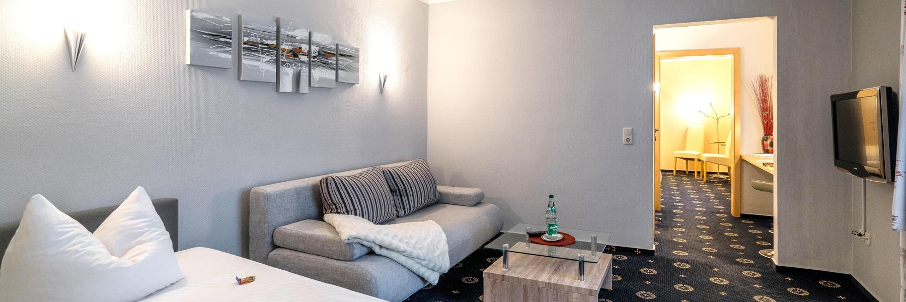 Wohnzimmer - Hotel Stadtkrug