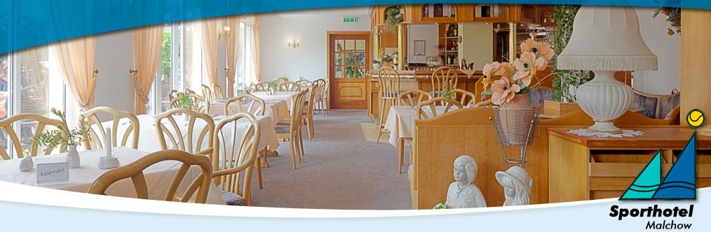 Restaurant - Sporthotel Malchow
