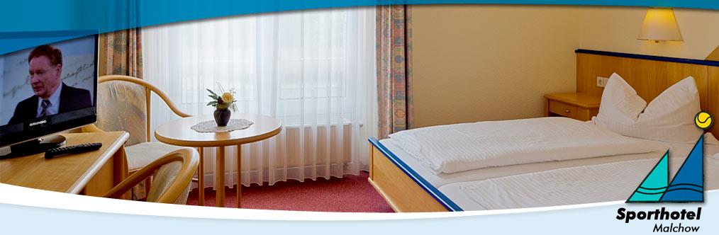 Zimmer - Sporthotel Malchow