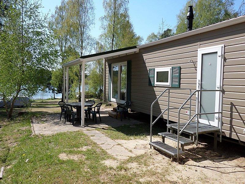 Mobilheime auf dem Campingplatz