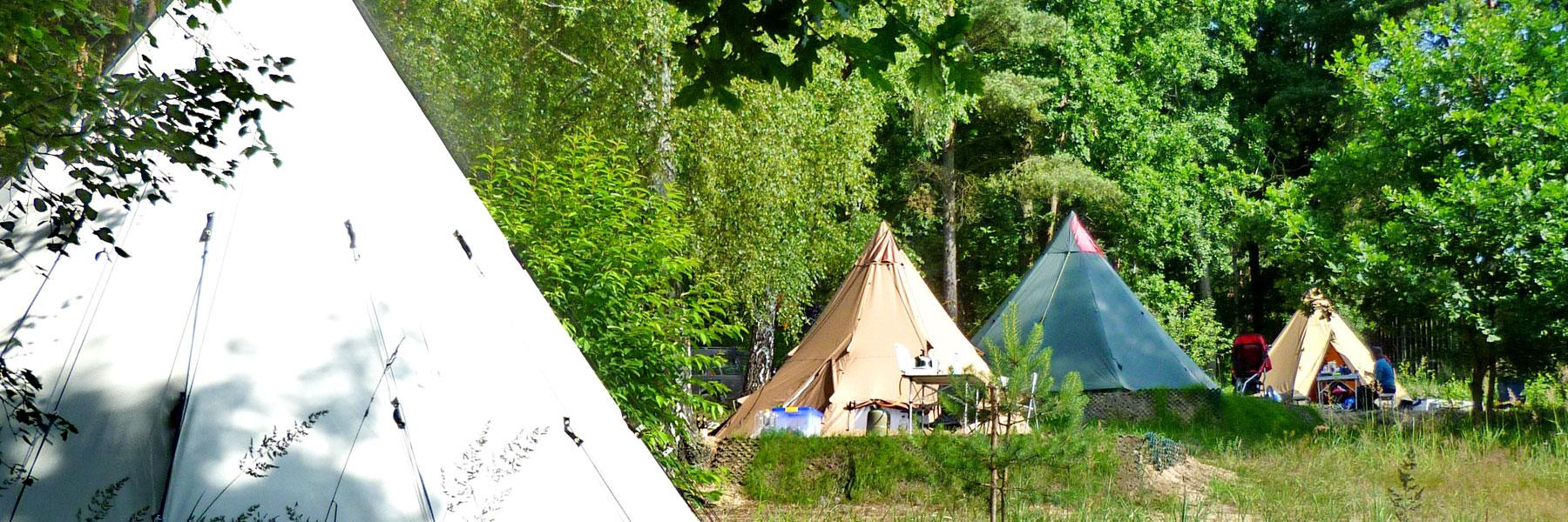 Zelte - Campingplatz Am Gobenowsee