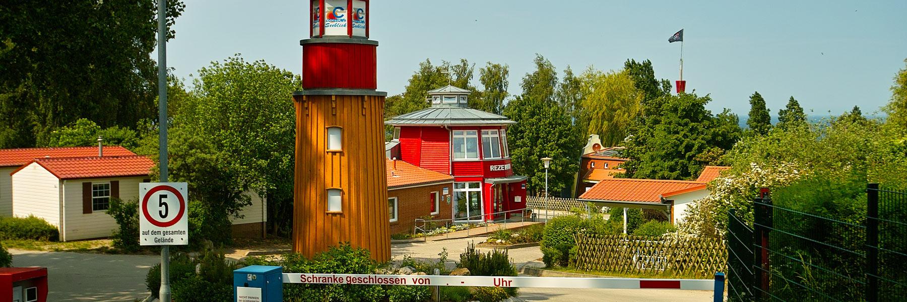 Einfahrt - Ostseecamp Seeblick