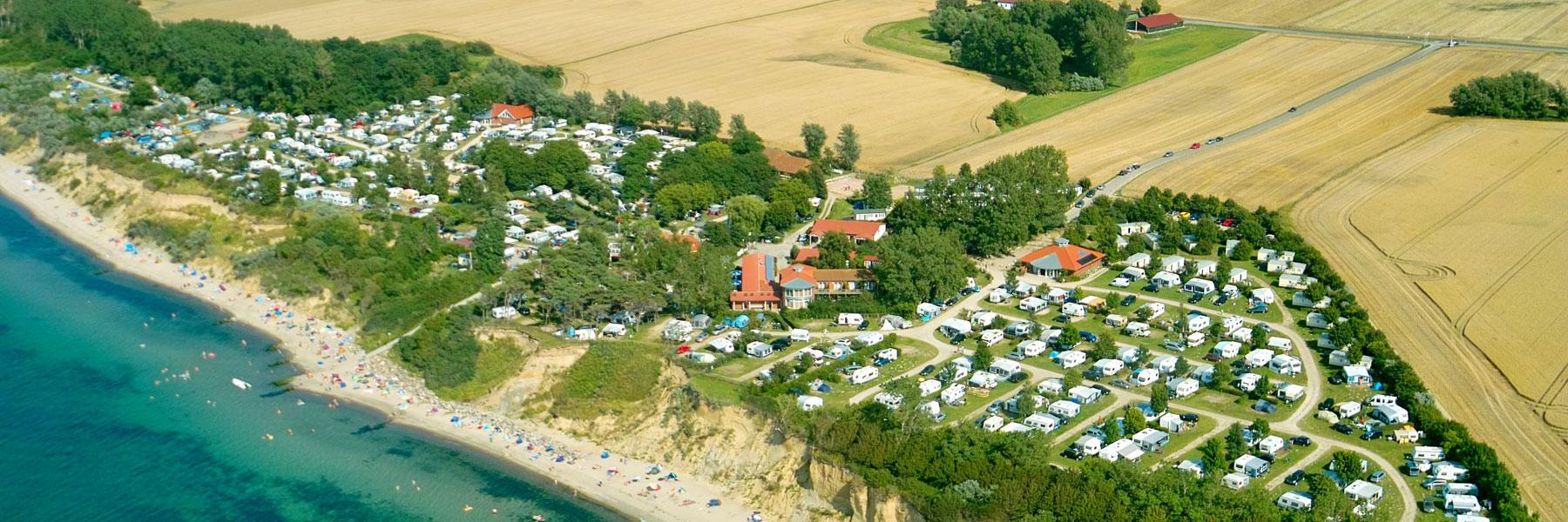 Luftaufnahme - Ostseecamp Seeblick