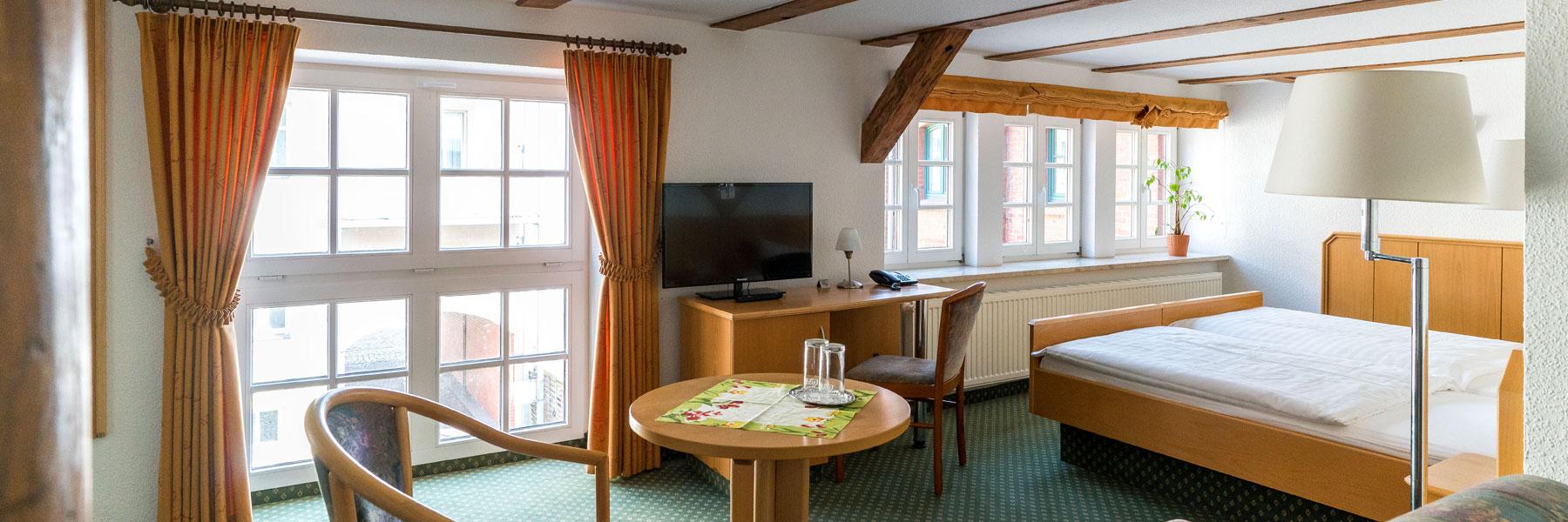 Zimmeransicht - Hotel Am Schloß