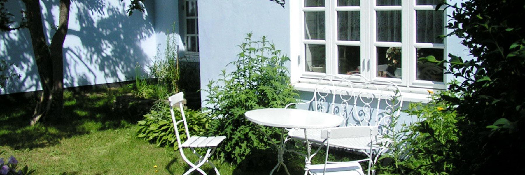 Garten - Ferienwohnung im Darßer Landhaus