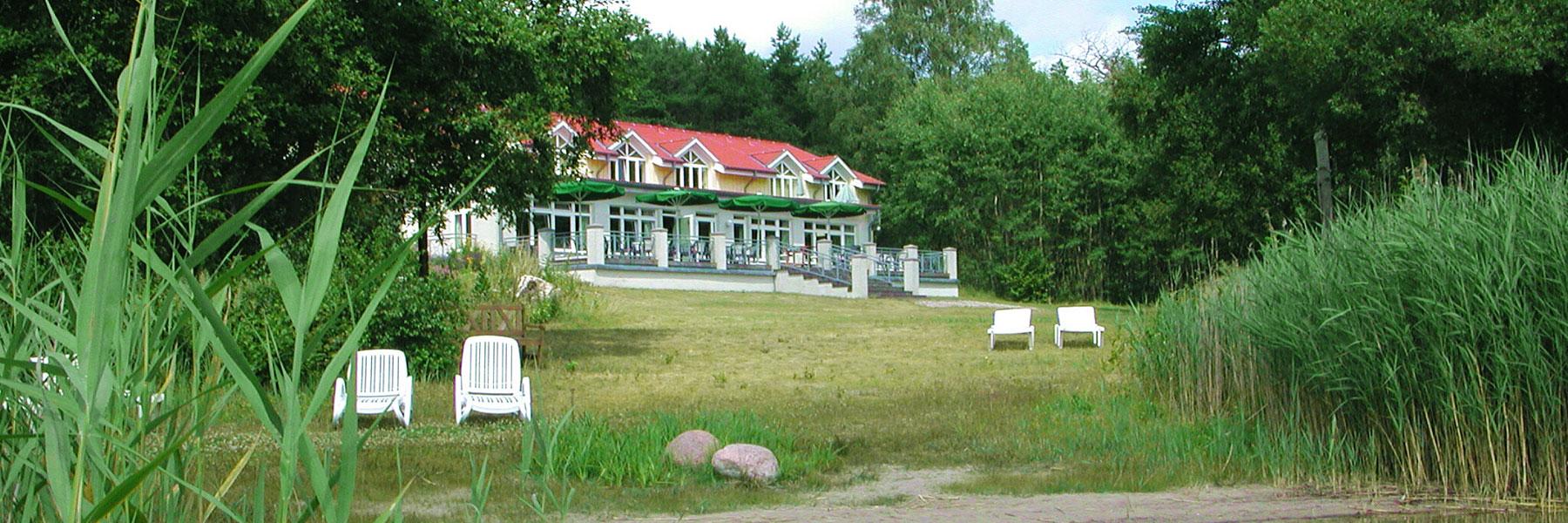 Außenansicht - KIWI Ferienwohnungen am Dreier See