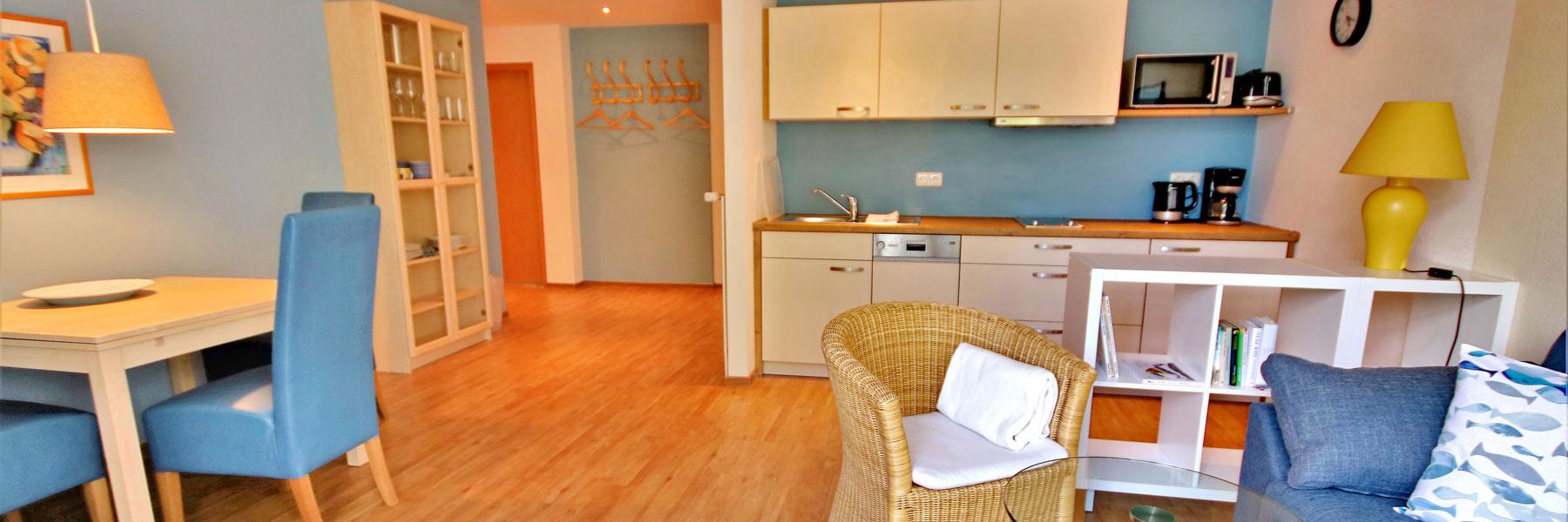 Wohnungsansicht - KIWI Ferienwohnungen am Dreier See
