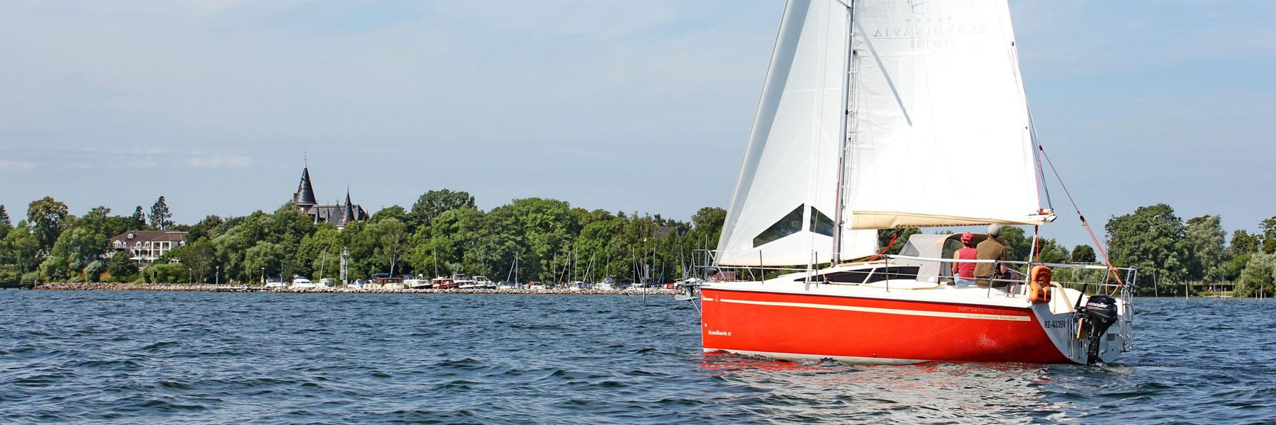 Segeltörn Müritz mit der Scandinavia - Sun Sailing Müritz