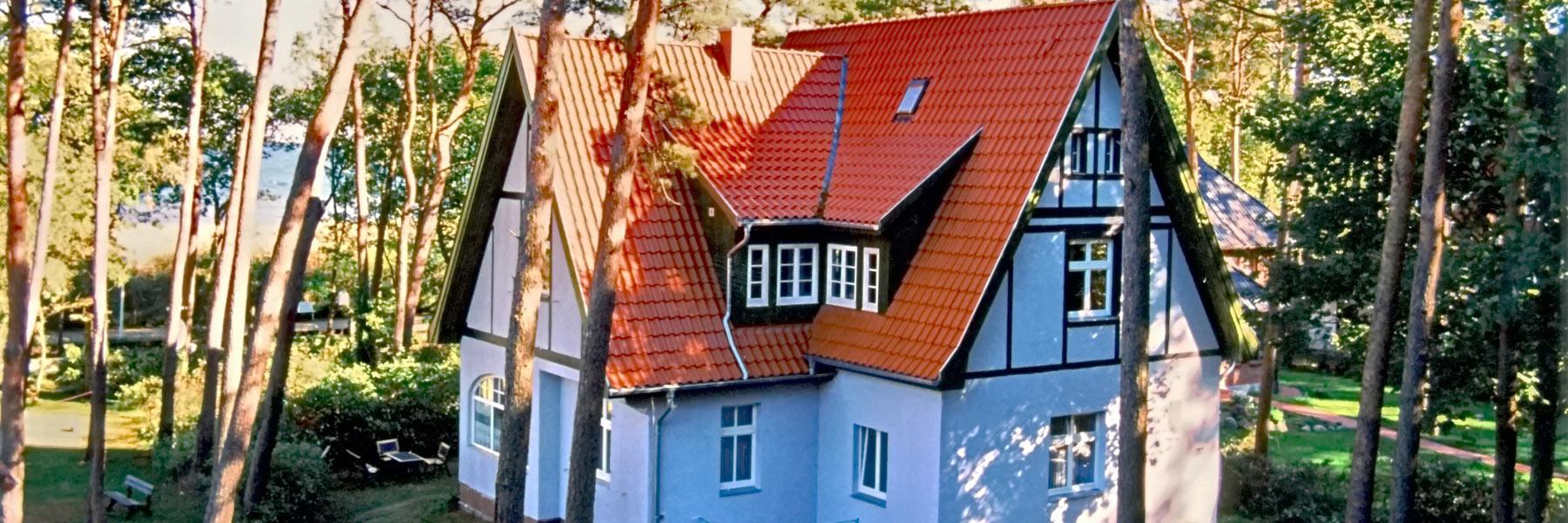 Außenaufnahme - Villa Gudrun