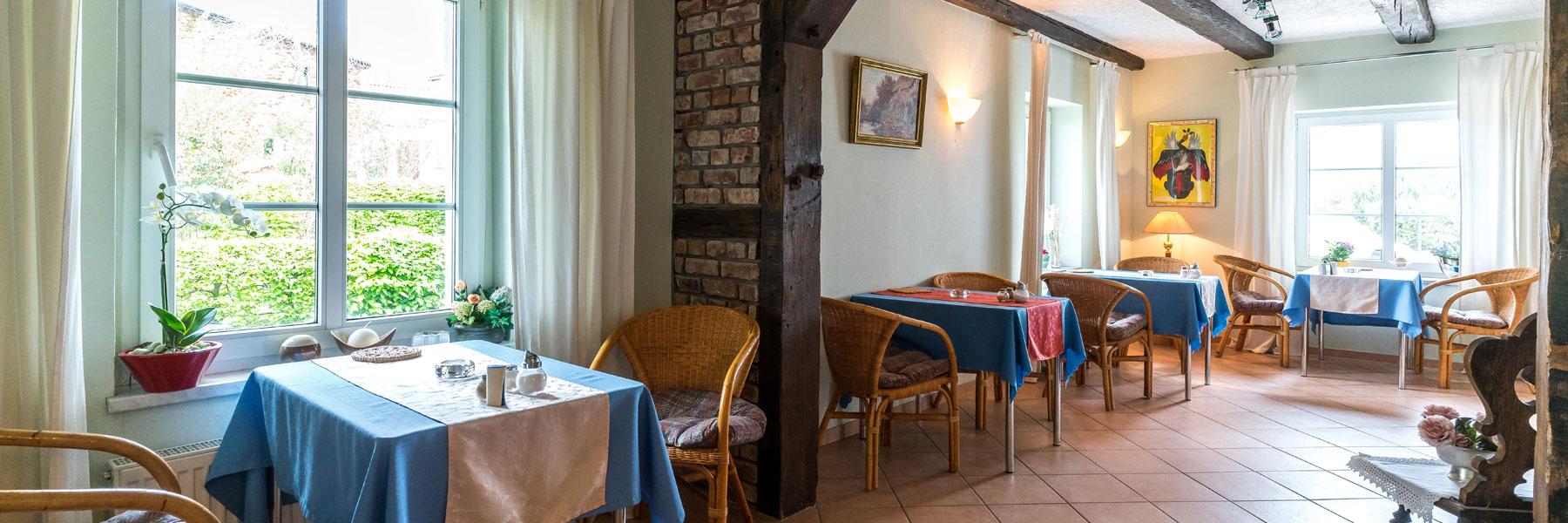 Frühstücksraum - Gästehaus Bade