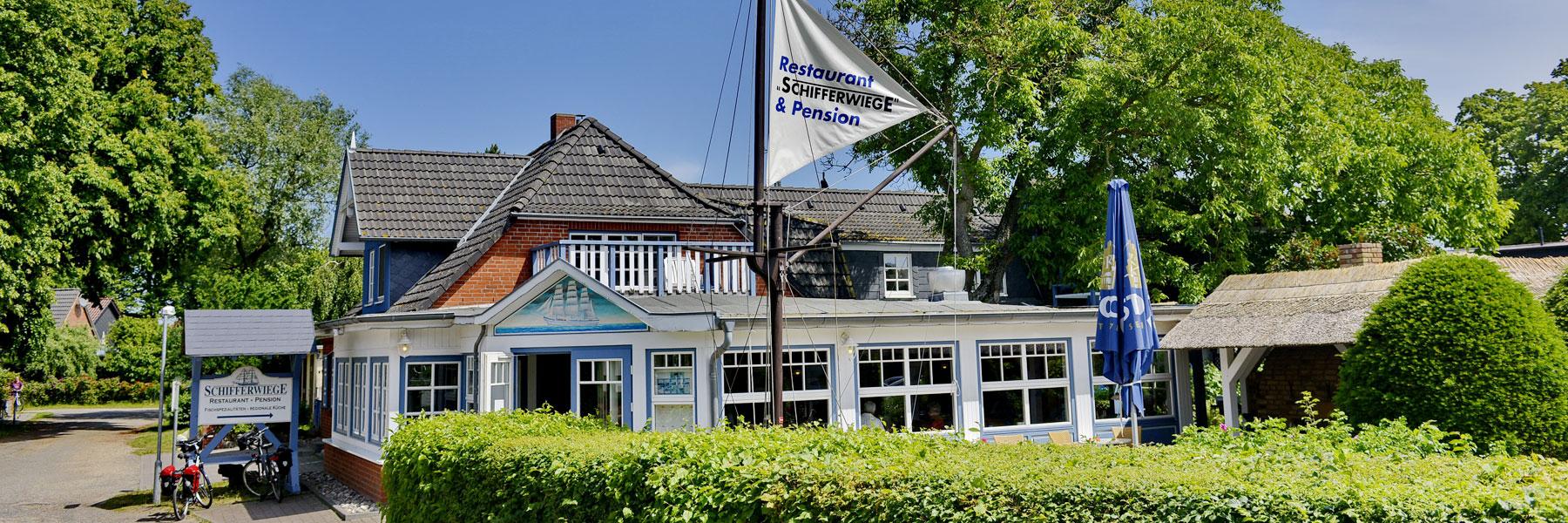 Außenansicht - Pension & Restaurant Schifferwiege