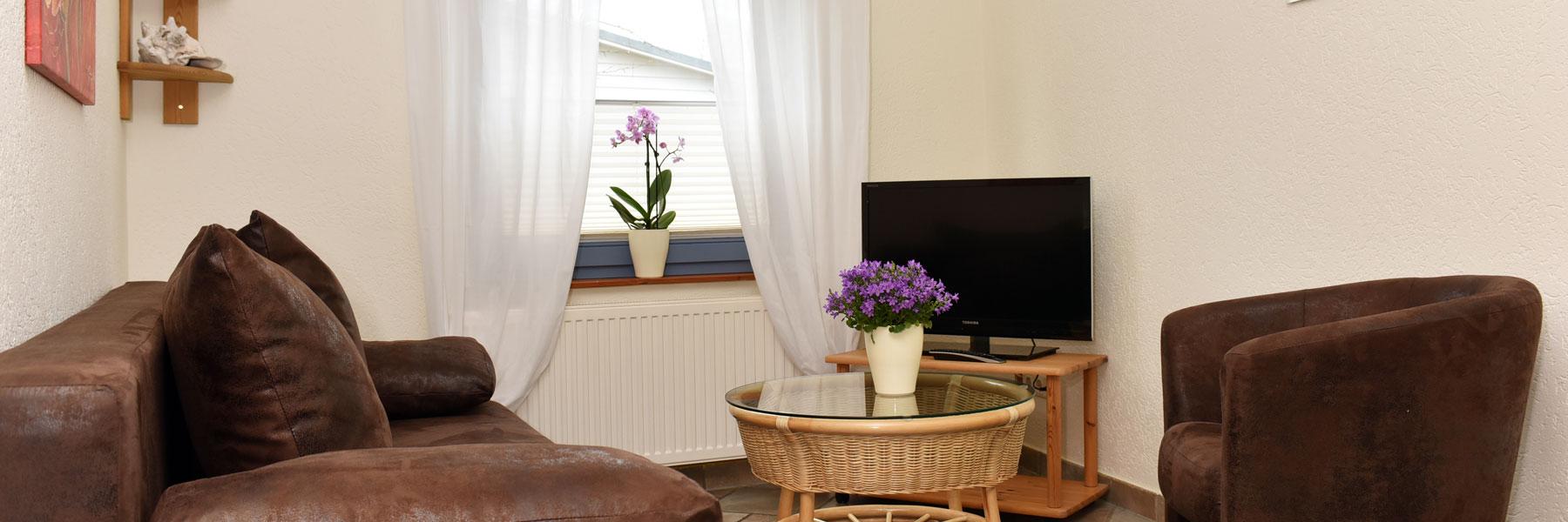 Wohnzimmer - Pension & Restaurant Schifferwiege