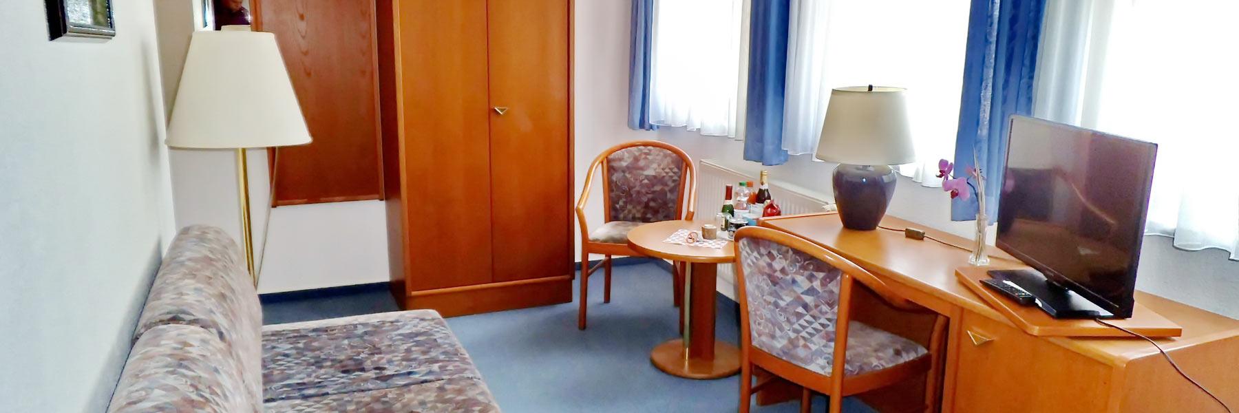 kleines Zimmer - Pension Sommerlust