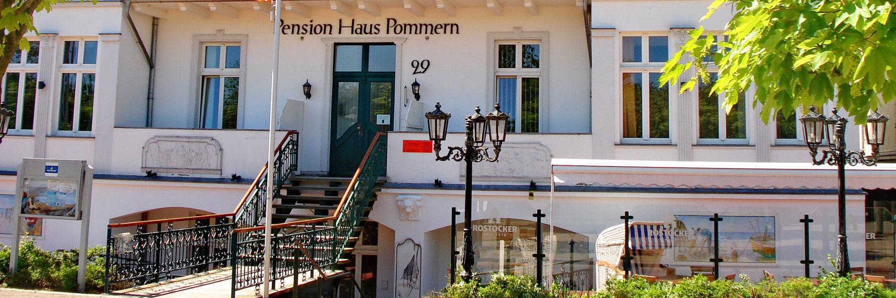 Eingangsbereich - Pension Haus Pommern