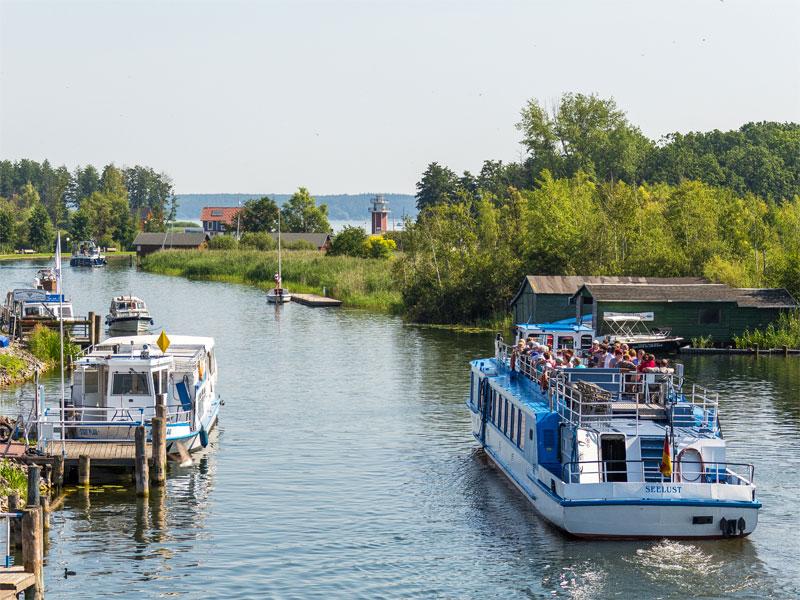 Tourenbeschreibung der Fahrgastschifffahrt Wichmann