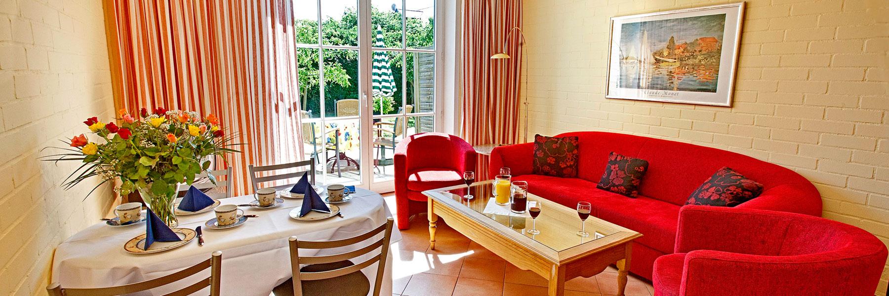 Ferienwohnung - Villa Edda (Hotel Garni - Ferienwohnungen - Appartements)