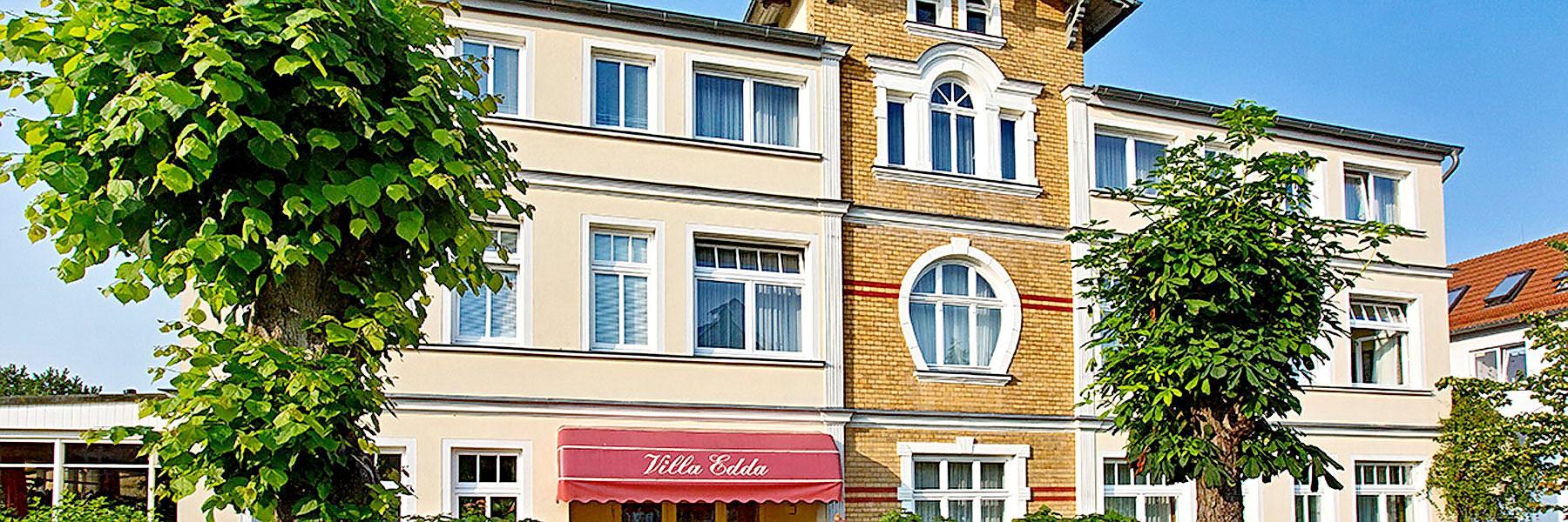 Außenansicht - Villa Edda (Hotel-Garni - Ferienwohnungen - Appartements)