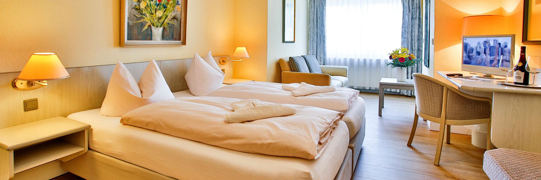 Zimmeransicht - Villa Edda (Hotel-Garni - Ferienwohnungen - Appartements)