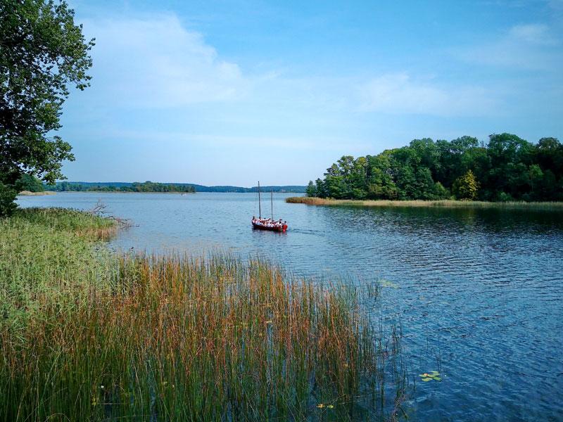 Bootstour auf einem See