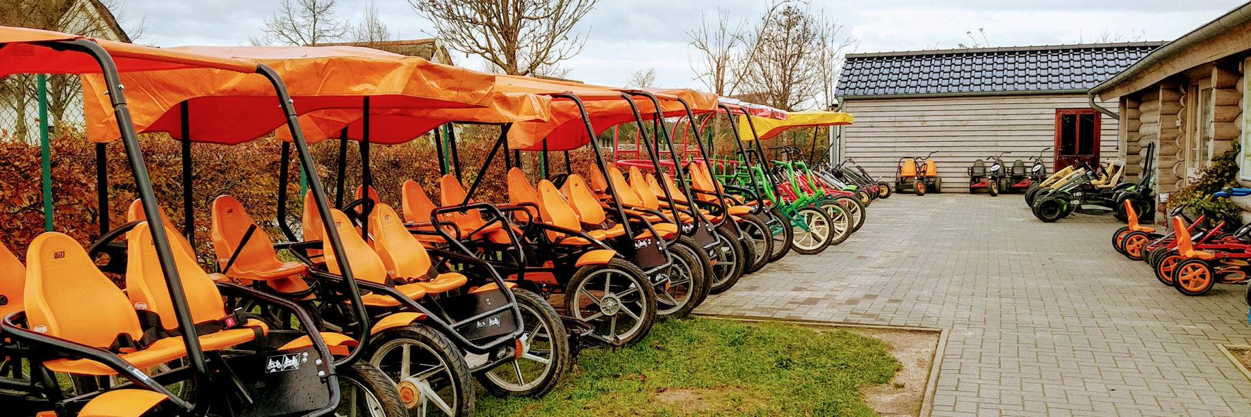 Pedal-Gokarts - WANDERER - Kanu, Rad & Reisen