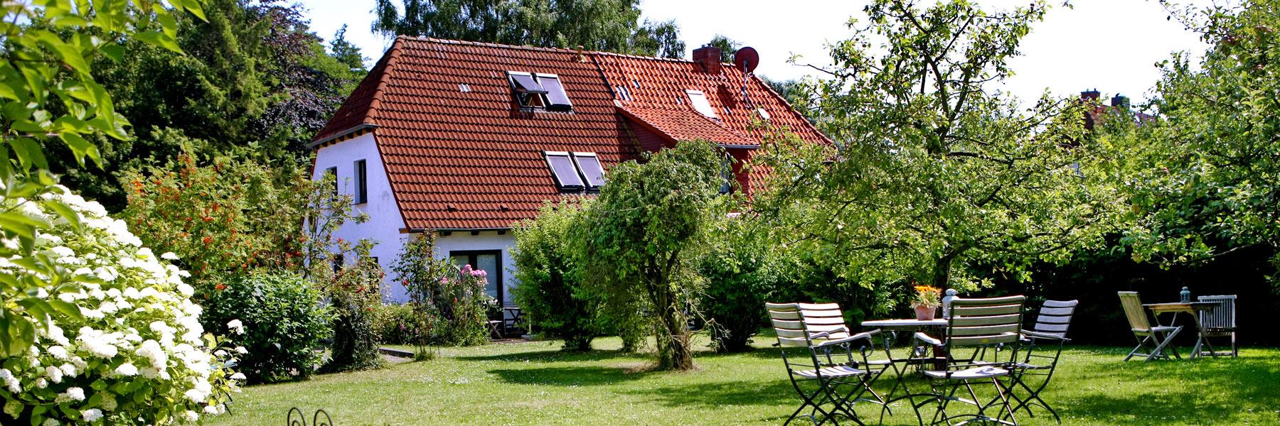 Garten - Gästehaus Karstadt