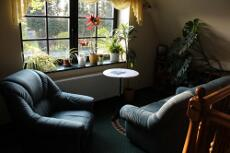 Couchgarnitur im Landhotel