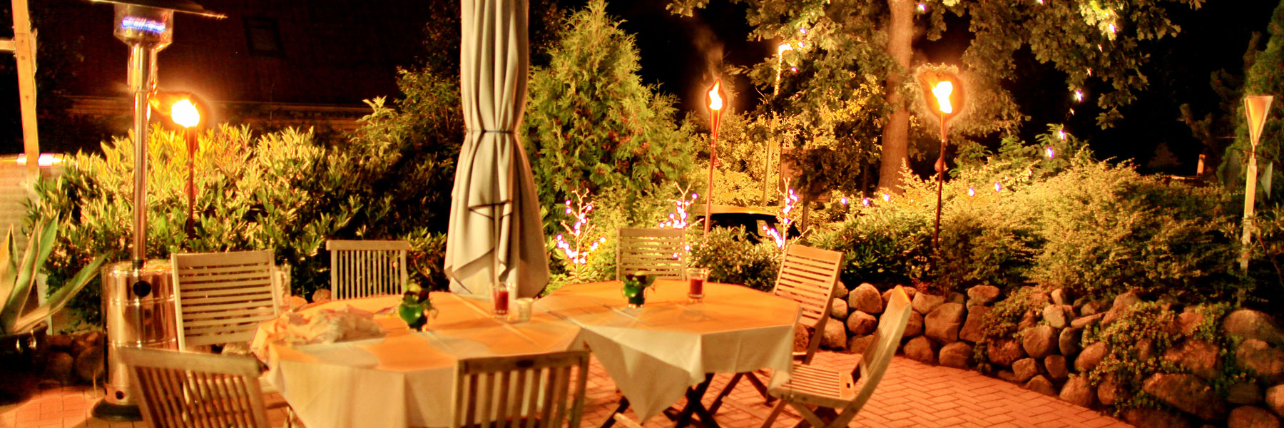 Abendstimmung - Kur- und Landhotel Borstel-Treff