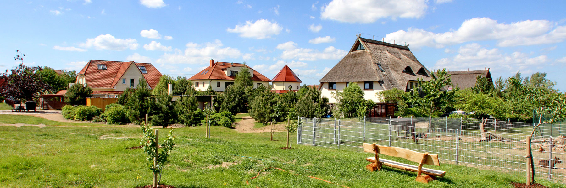 Hotelanlage - Kur- und Landhotel Borstel-Treff