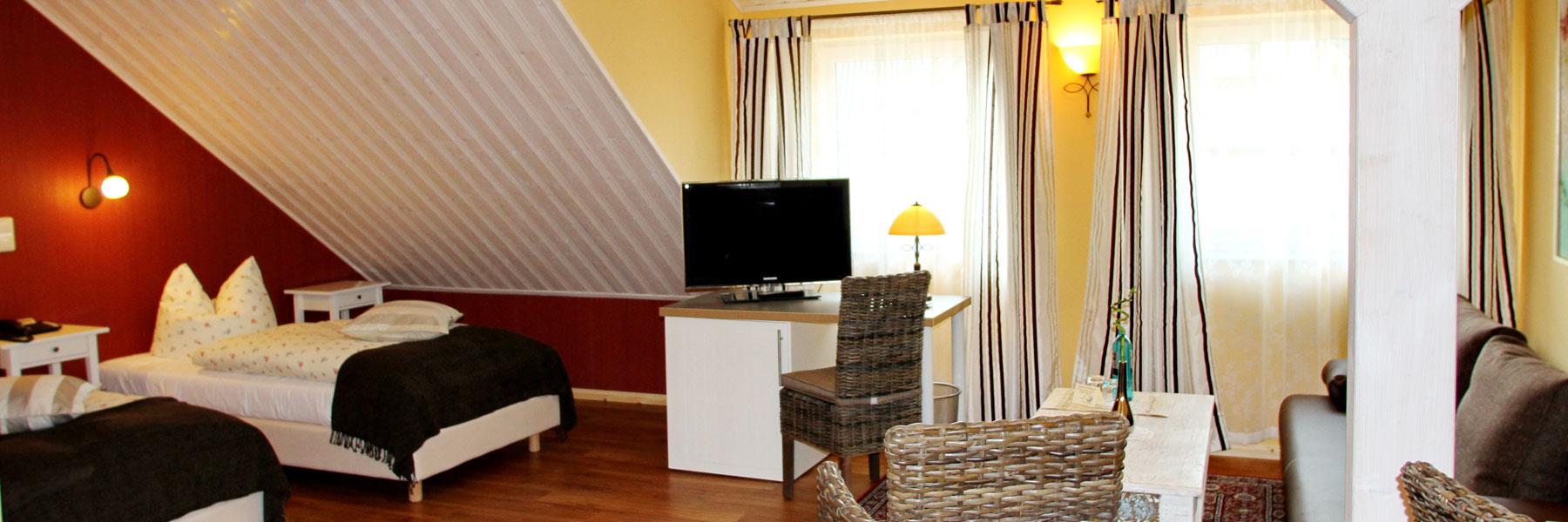 Hotelzimmer - Kur- und Landhotel Borstel-Treff