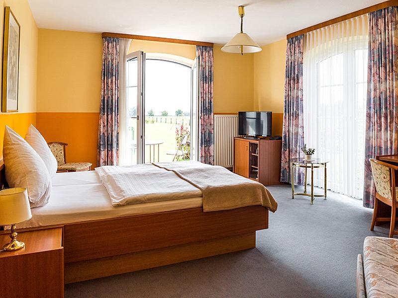 Doppelzimmer vom Hotel Marianne in Plau am See