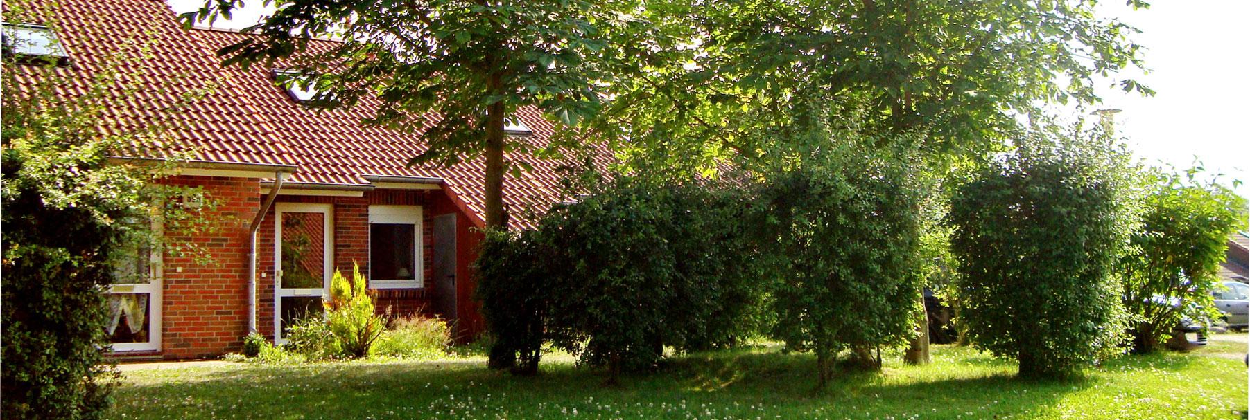 Außenansicht - Ferienhaus Kleeblatt