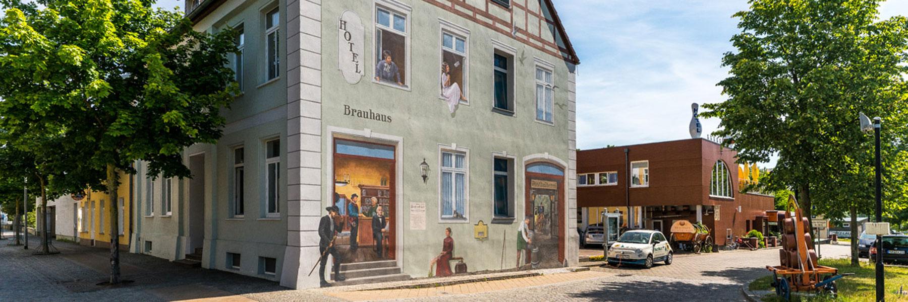 Hotelansicht - Hotel am Brauhaus