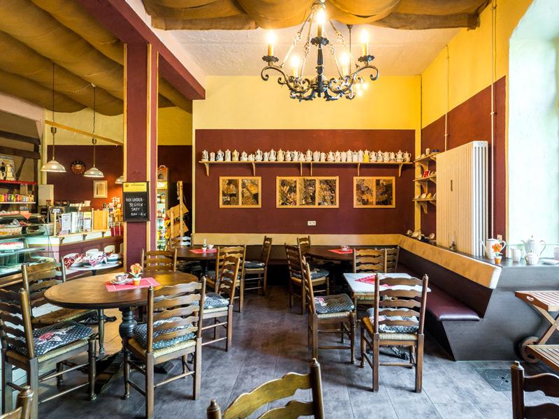 Café und Restaurant
