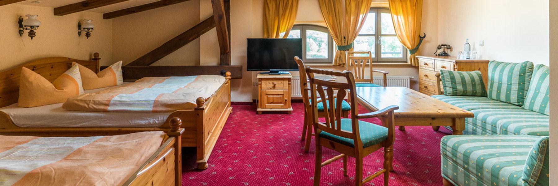 Mehrbettzimmer - Landhotel Zur Scheune