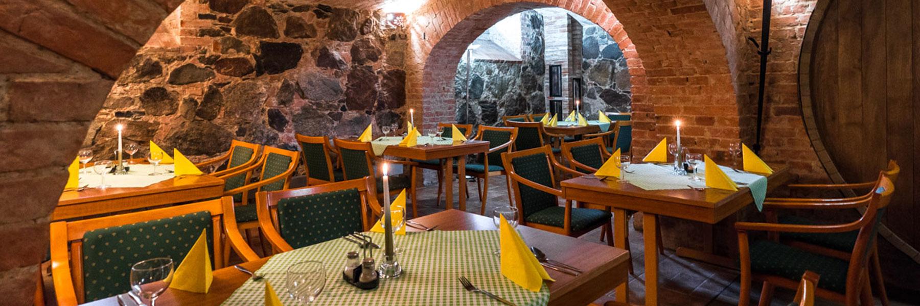 Restaurant im Gewölbekeller - Landhotel Zur Scheune