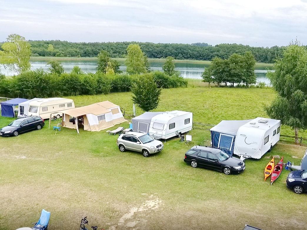 Camping am Bauernhof nahe Feldberg