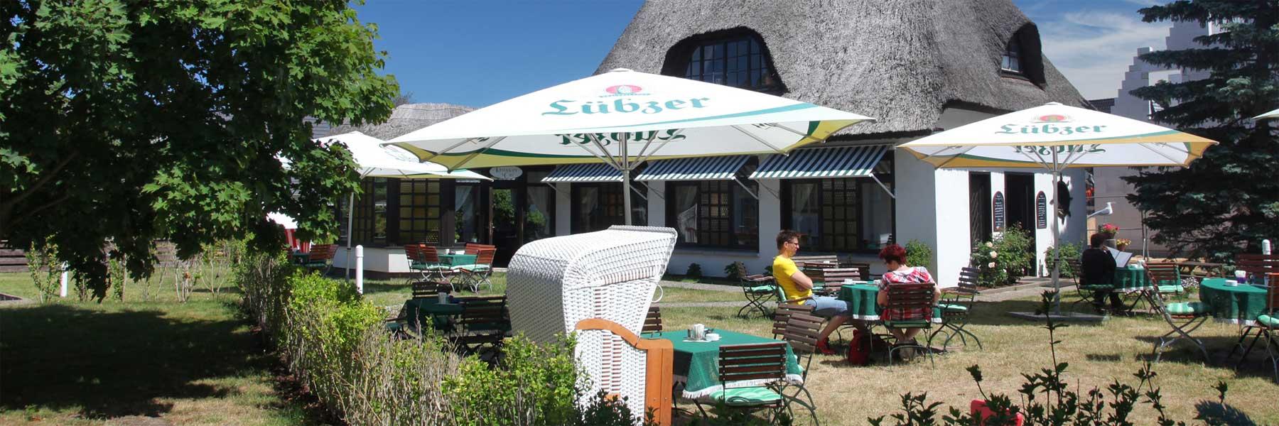 Garten - Caféstübchen und Pension Witt