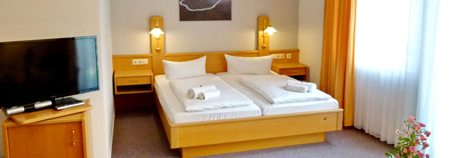 Großes Doppelzimmer - Hotel-Pension Pastow