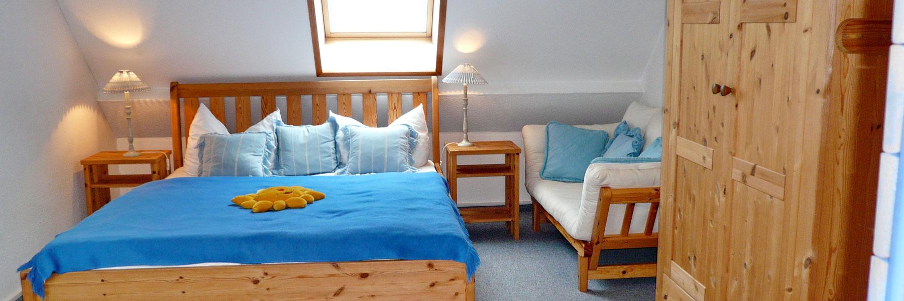"""Schlafzimmer - Appartementhaus """"Alena"""""""
