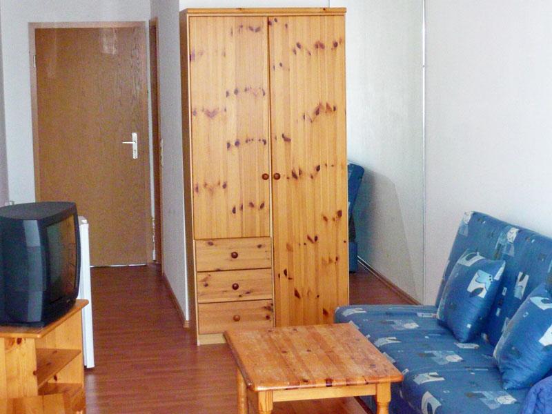 Doppelzimmer buchbar auch als Einzelzimmer