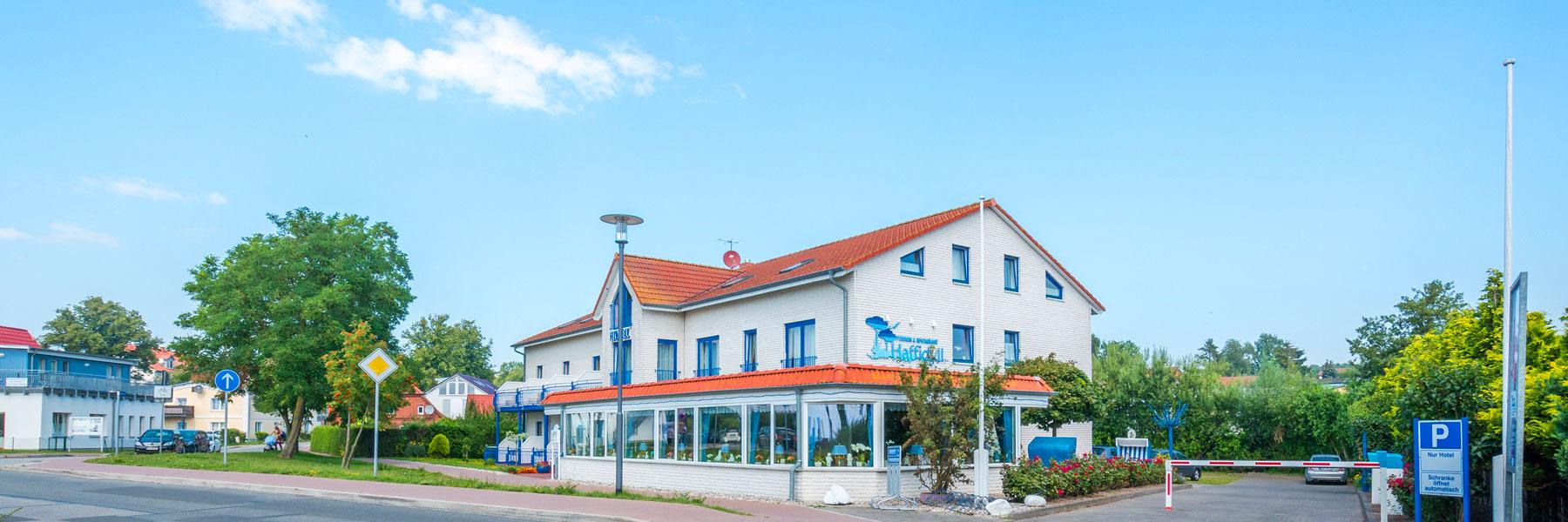 """Außenansicht - Hotel Garni """"Haffidyll"""""""