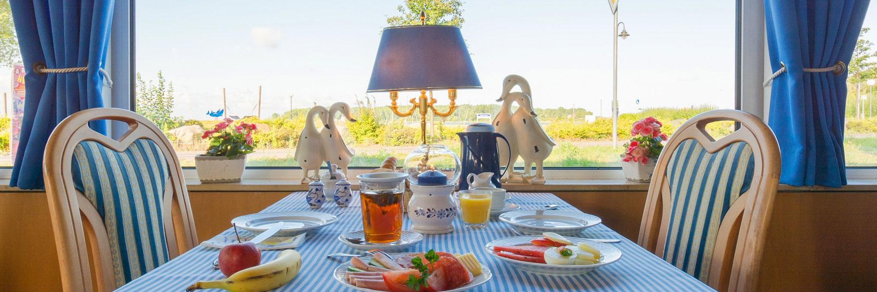 """Frühstück - Hotel Garni """"Haffidyll"""""""