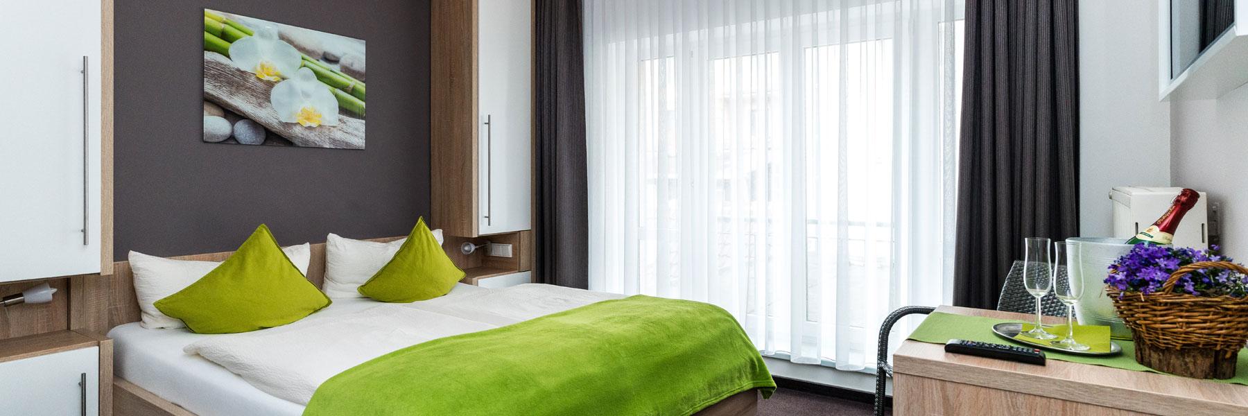 Doppelzimmer im Obergeschoß - Pension ALABAMA
