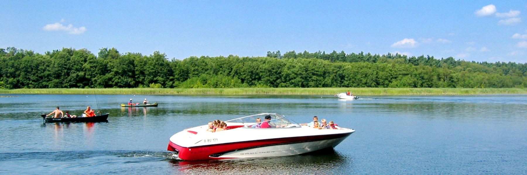 Speedboot - Waldhaus am Ferienpark