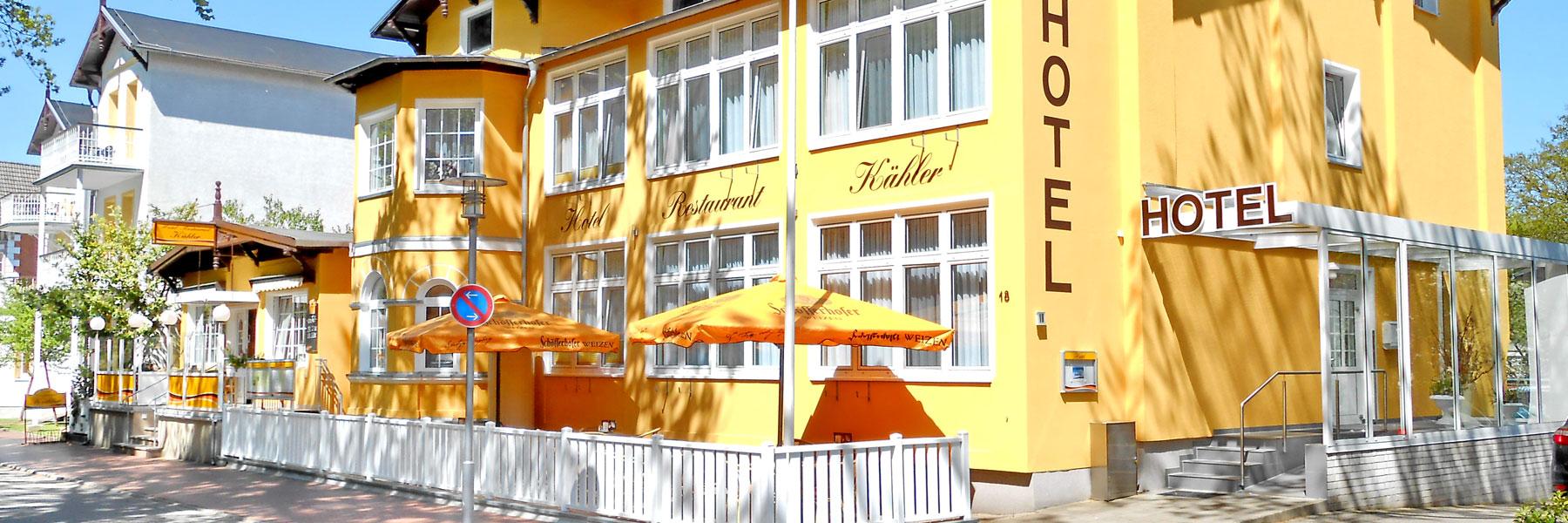 Außenansicht - Hotel und Restaurant Kähler