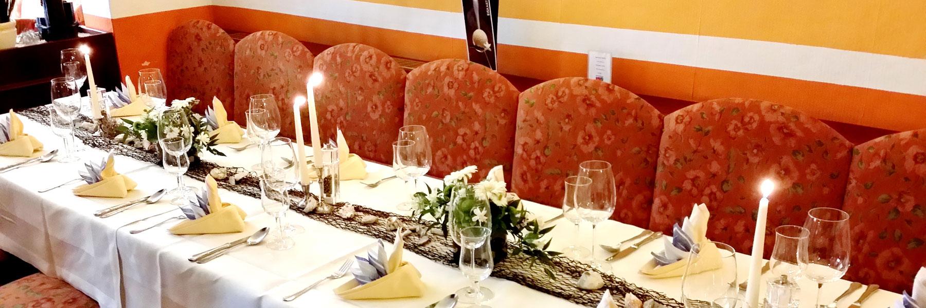 festliche Tafel - Hotel und Restaurant Kähler